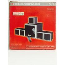 Home Theater 5.1 Pc - 40w Rms - Controle Remoto - Durabrand