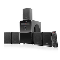 Home Theater 5.1 80w Rms C/ Usb Sd Card Fm Multilaser Sp177