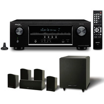 Home-theater Receiver Denon S510bt E Pure Acoustics 5.1 Lord