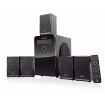 Home Theater 5.1 - 80w Rms- Rádio Pendrive Cartão Multilaser