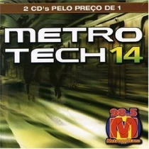 Cd Metro Tech 14 - Duplo Coletanea Dance - Cd Usado Original