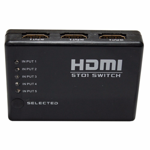 Hub C/ Dispositivo Hdmi Switch Splitter 6portas Hdmi-l032ls