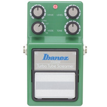 Pedal Guitarra Ibanez Tube Screamer Ts 9 Dx Distorção Verde