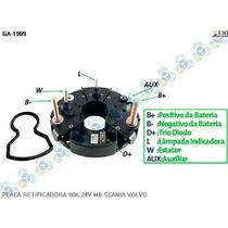 Placa Retificadora 80a Scania Caminhao Dsc 14.61 - Gauss