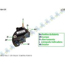 Regulador De Voltagem Fiat Palio 14v - Gauss