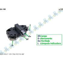 Regulador De Voltagem Ford Fiesta 14v 75a - Gauss