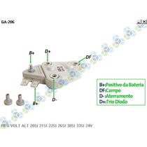 Regulador Voltagem Veiculos Alternador Delco 28v - Gauss