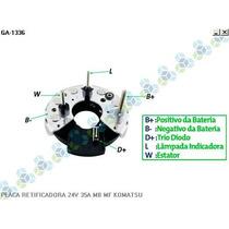 Placa Retificadora Mf Motor Gerador Om - Gauss