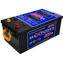 Bateria Maxpower 400ah 3000a/p Para Som Automotivo Max Power
