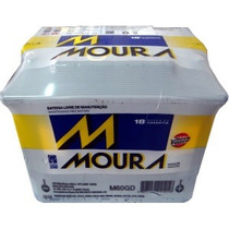Bateria Moura 60ah-ampères_m60gd/m60ge / Leia Descrição .
