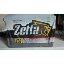 Bateria Zetta 60ah Modelo Z60d Para Uno, Corsa E Outros