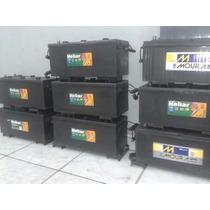 Bateria De Caminhão 150ah Usada Semi Nova 150 Amperes