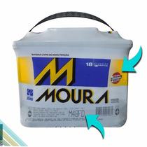 Bateria Moura 12v 48ah M48fe Livre De Manutenção Ka Fiesta