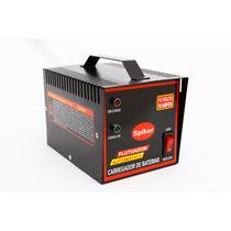 Carregador De Bateria Carro Moto 10ah Automático Inteligente