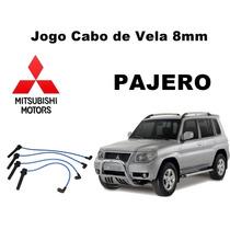 Jg Cabo Vela Silicone 8mm Mitsubishi Pajero Tr4 Após 2007
