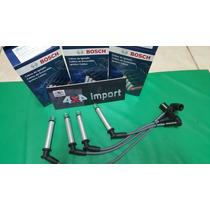Jogo De Cabo Vela Ignição Bosch Gm S10 Blazer 2.2 E 2.4 Flex