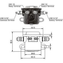 Rele Automatico Auxiliar Motor Partida 12v Tipo Ford 401