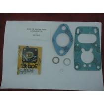 Reparo/ Juntas Carburador Solex 28 Com Diafragma Fusca 1200