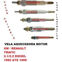 Vela Aquecedora Gm/ Renault Trafic 2.1/2.2 Diesel 92 Ate 99