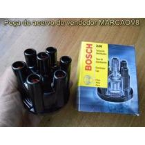 Tampa Do Distribuidor Bosch + Rotor Bosch Para Opala 6 Cil