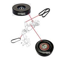 Kit Polia / Tensor Correia Alternador/helice Tracker 2.0 16v