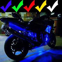 Super Kit Neon Led P/motos Universal. Mais Potente 15 Peças