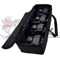 4 Mini Moving Beam Led 12w Cree Rgbw Dmx + Bag Case Grátis