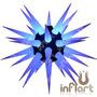 Sputnik Virus P Completo - Inflável, Estrela, Neon, Led