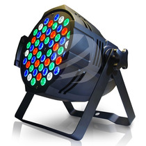 Refletor Led Par 64 Rgbw 54 Leds De 3w, Original Led Cree