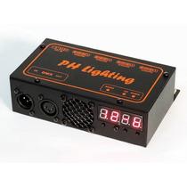 Super Controlador / Interface Dmx 4 Fitas Led Rgb 12 Canais