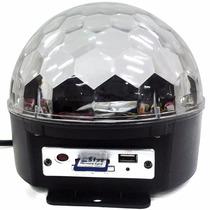 Bola Maluca De Led Cristal - Pendrive - Controle 18w-24w
