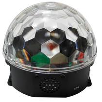 Globo Projetor Holográfico Bola Maluca Led Rgb 18w 6 Ch Dmx