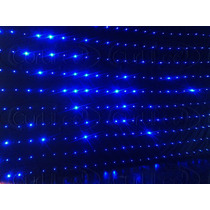 Cortina De Led 3x4 Azul Efeitos Sensoriais E Automáticos
