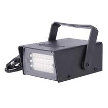 Strobo Led Projetor De Luz Flash Iluminação Festa Branco