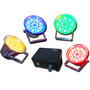 Kit Sequencial Led Com Sensor De Som - Ritmico, Auto, Strobo