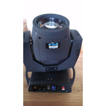 Par Moving Beam 200 5r 16 Canais Pro Ligth Com Case Head