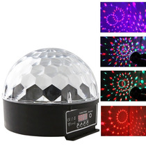 Meia Bola Maluca Led Rgb 20w Dmx Cristall Ball 9 Cores Bivol