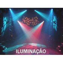 Curso Técnico Iluminação De Festas, E Shows - 530 Págs.