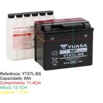 Bateria Yuasa Ytx7l Bs Falcon Twister Tornado Cb300 Nxr