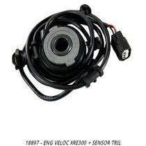 Engrenagem Velocimetro + Sensor Xre300
