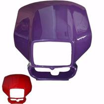 Carenagem Do Farol Honda Xr 200 - Vermel 01/02 - S/ Adesivo