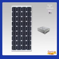 Veleiro Na Poita? Painél Solar 12v 5w + Controlador De Carga