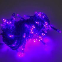 Pisca Pisca Natal 100 Lampadas Led Rosa Festa Casa Decoracao