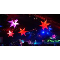 Sputnik Inflável 3d, Estrela13 Pontas 80cm,dj,buffet,festas,
