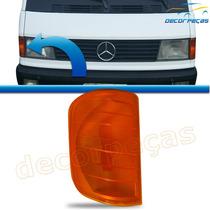 Lanterna Pisca Dianteiro Caminhão Mercedes Benz Mb180 Ambar