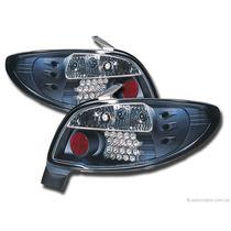 Tuning Imports Par De Lanterna Altezza Led Sonar Peugeot 206