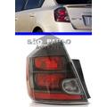 Lanterna Sentra Nissan Esquerdo Ano 2012 2013 Fume Negra