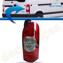 Lanterna Traseira Renault Master 2003 A 2012 Bicolor Nova