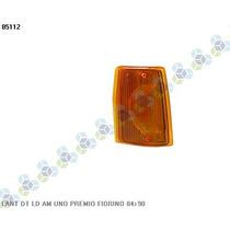 Lanterna Dianteira Direita Amarela Fiorino 84/90 - Ht
