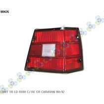 Lanterna Traseira Direita Rubi Caravan 80/92 - Ht